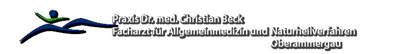 Informationsseite der hausärztlichen Facharztpraxis Dr. med. Christian Beck